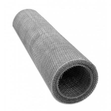 Plasa sarma groasa si ochiuri medii Zn 1x12 m - 4.0x4.0x1.0 mm [0]