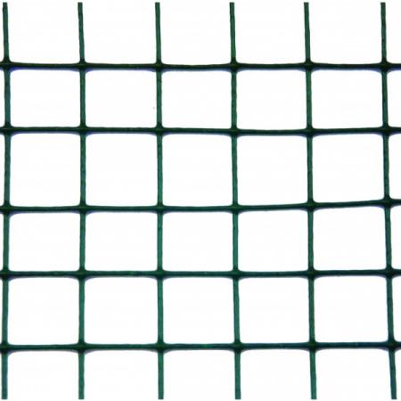 Plasa sarma Zn sudata plastifiata 0.5x10 m - 13x13x1 mm [1]