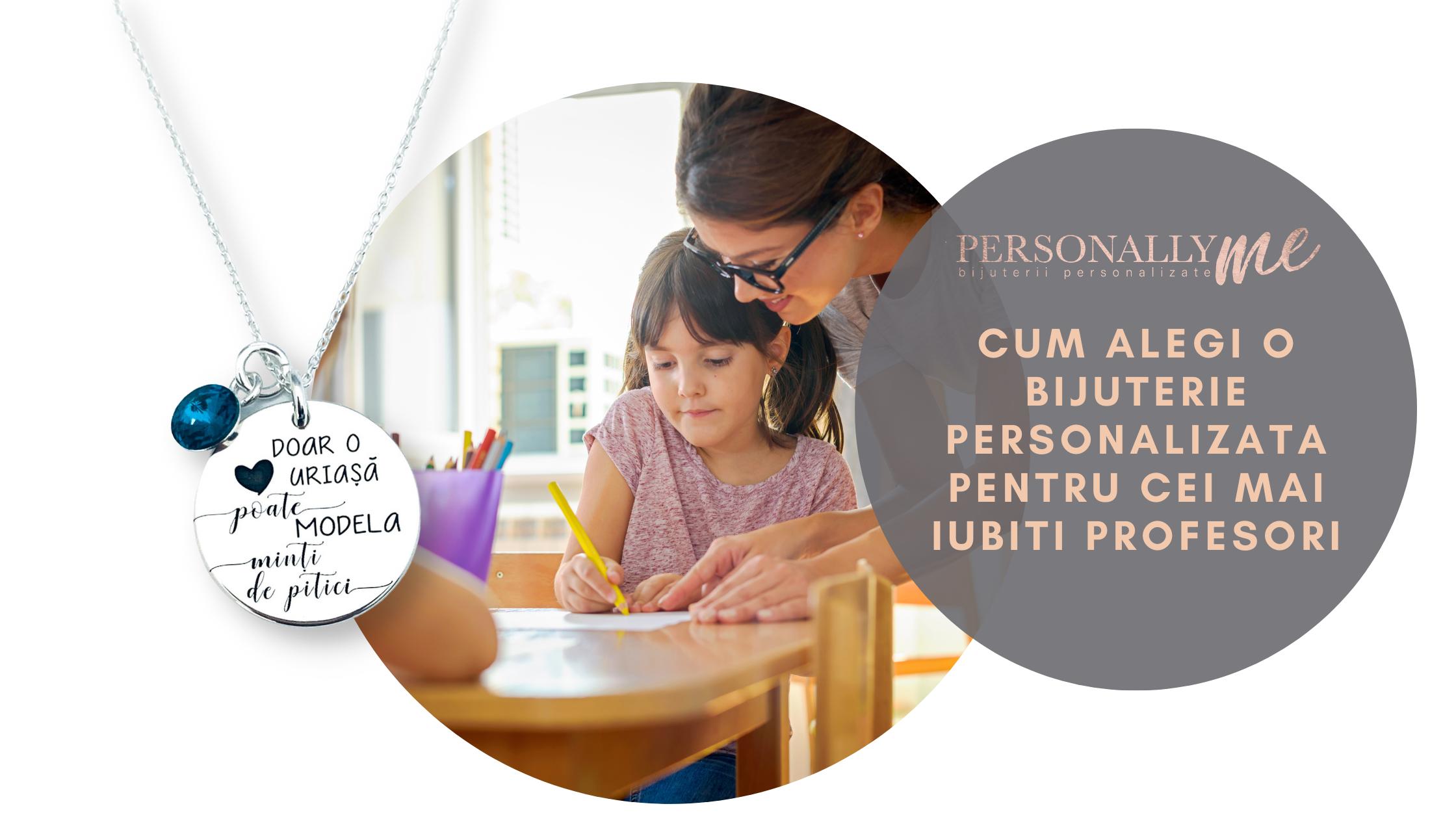 Cadouri personalizate pentru învățători, diriginți, profesori. Recomandări și idei inspirate - by Personally ME