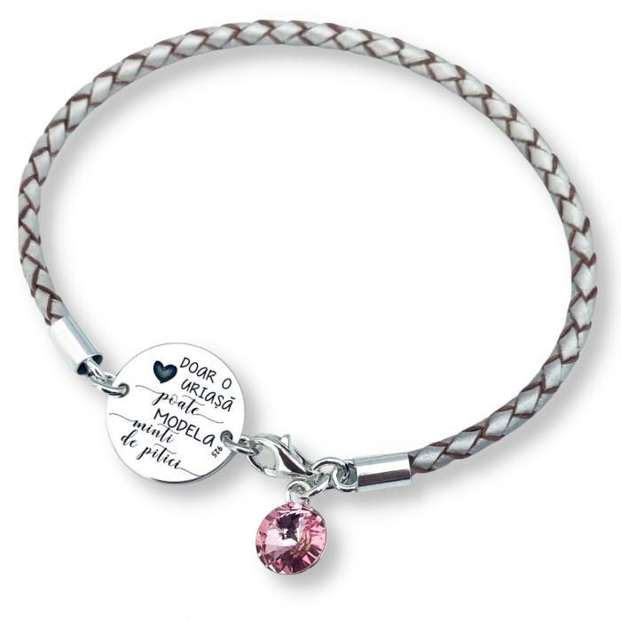 Bratara Personalizata argint cadou invatatoare O inima uriasa - Personally ME [0]