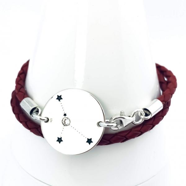 Bratara zodie argint personalizata Constelatii 1