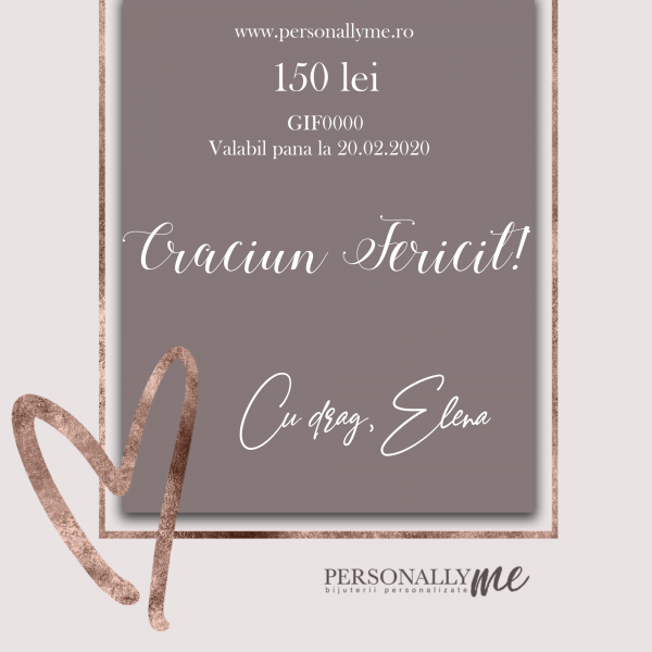Cadou Personalizat – Card Cadou 150 Lei 4