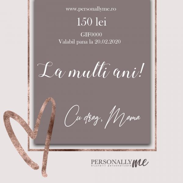 Cadou Personalizat – Card Cadou 150 Lei 0