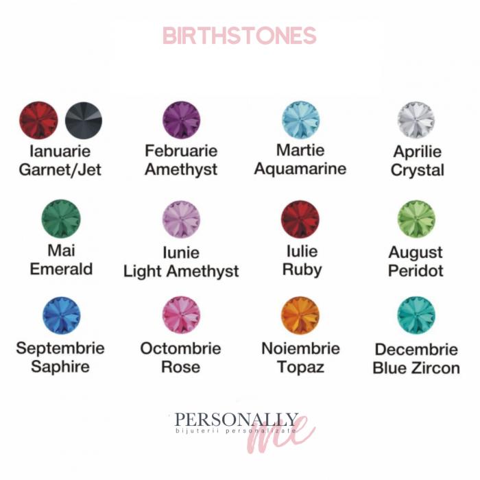 Cercei Constelatii zodii personalizati argint cristale Swarovski [4]