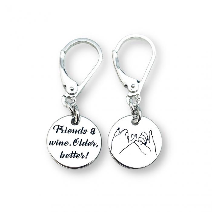 Cercei banut argint cadou prietena - Personally ME [0]