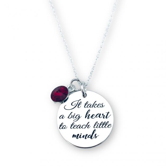 Lant argint dama Big Heart: Cadou educatoare - Personally ME [0]