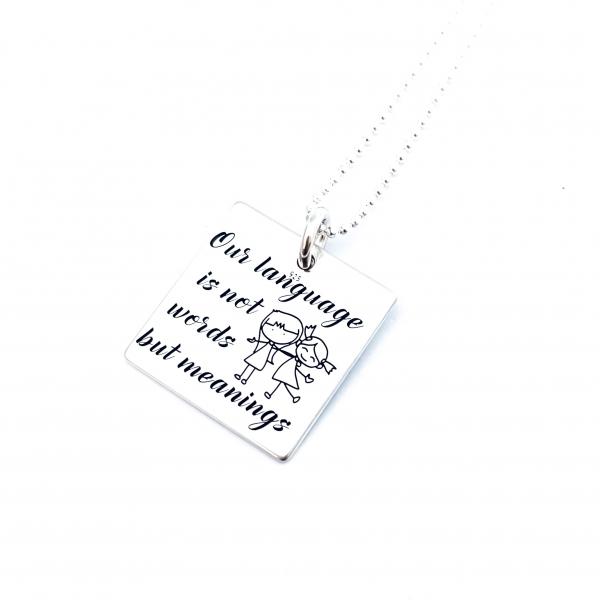 Colier Argint Gravat Meanings 0