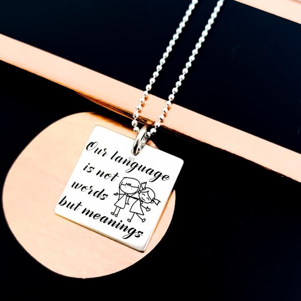 Colier Argint Gravat Meanings 1