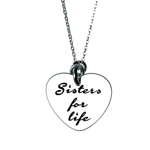 Lanturi personalizate - Sisters for life 0