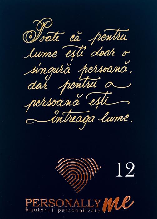Felicitare caligrafiata mesaj special cadou prieteni [12]