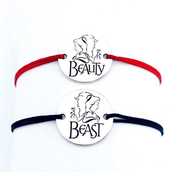 Bratari Beauty and the Beast Personalizate 0