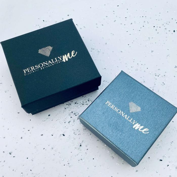 Set colier argint personalizatBig Heart & Cercei Rivoli Cristale [5]