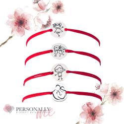 PROMO - Bratara argint gravata cu mesaje inspirationale sau simboluri3