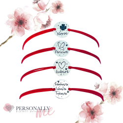 PROMO - Bratara argint gravata cu mesaje inspirationale sau simboluri1