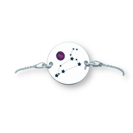 Bratara dama cu Constelatii, personalizata, banut argint [1]