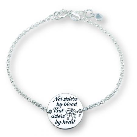 Bratara Sisters by Heart Personalizata din Argint [0]