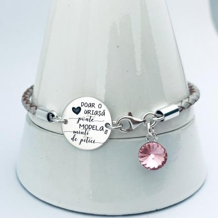 Bratara Personalizata argint cadou invatatoare O inima uriasa - Personally ME [1]