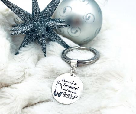 Breloc Chei Personalizat Argint Personally ME [2]