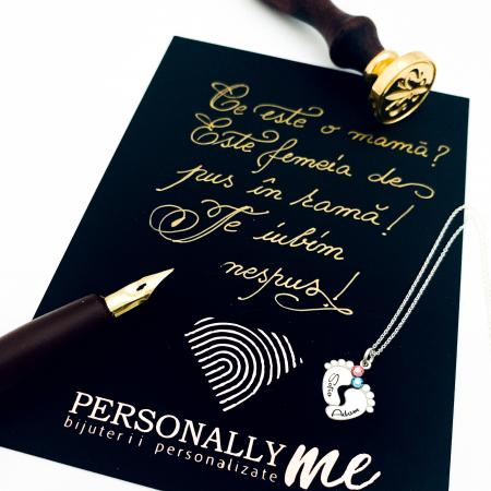 Felicitare caligrafiata cu mesaj special cadou - Mama0