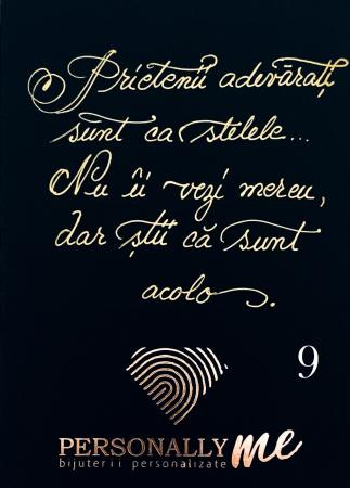 Felicitare caligrafiata cu mesaj special cadou - Sarbatori Fericite10