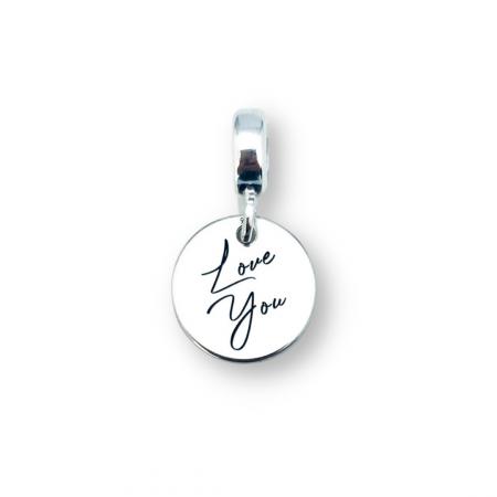 Charm gravat argint bratara Love You - Personally ME [0]