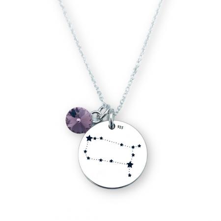 Lantisor argint pentru femei constelatie [0]