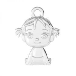 Colier personalizat pandantiv argint charm Fetita / Baietel2