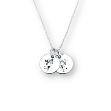 Lantisor Argint Personalizat Micutele Balerine - Personally ME [0]