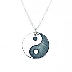 Colier argint personalizat Yin & Yang0