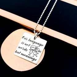 Colier argint gravat Meanings1