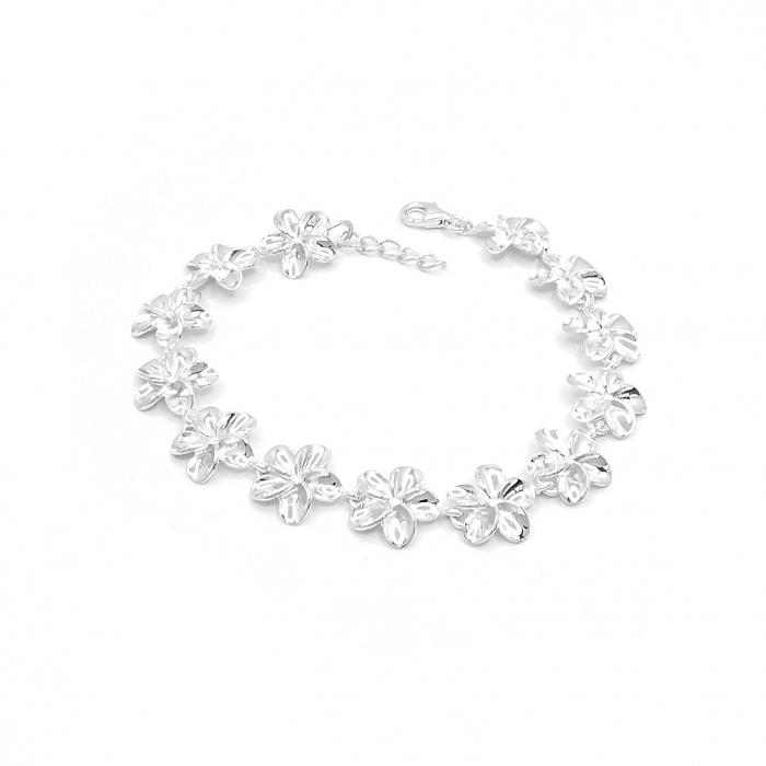Bratara Argint 925 Floare Plumeria Personal Style [0]