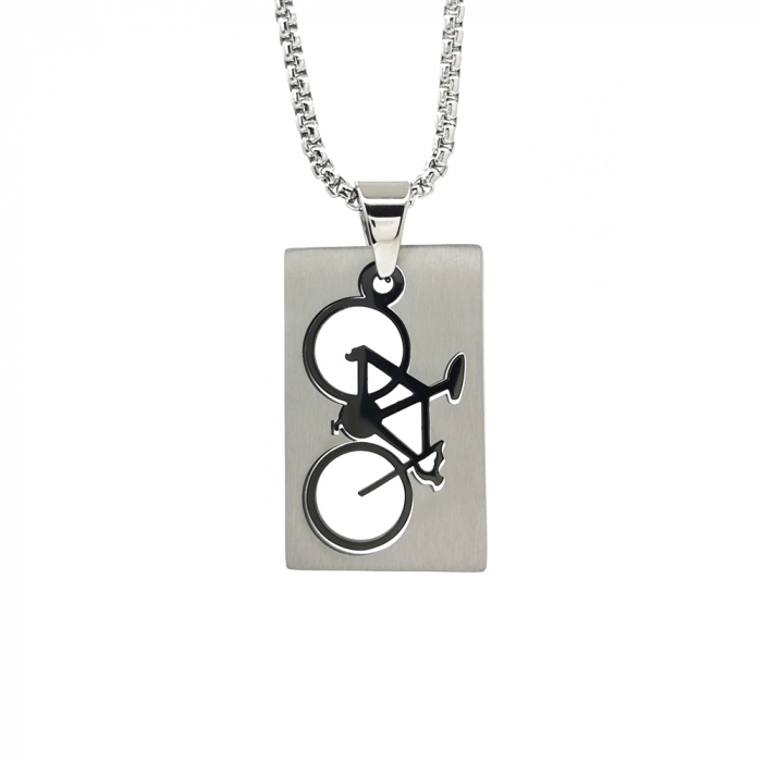 Lant Pandantiv Bicicleta Inox [0]
