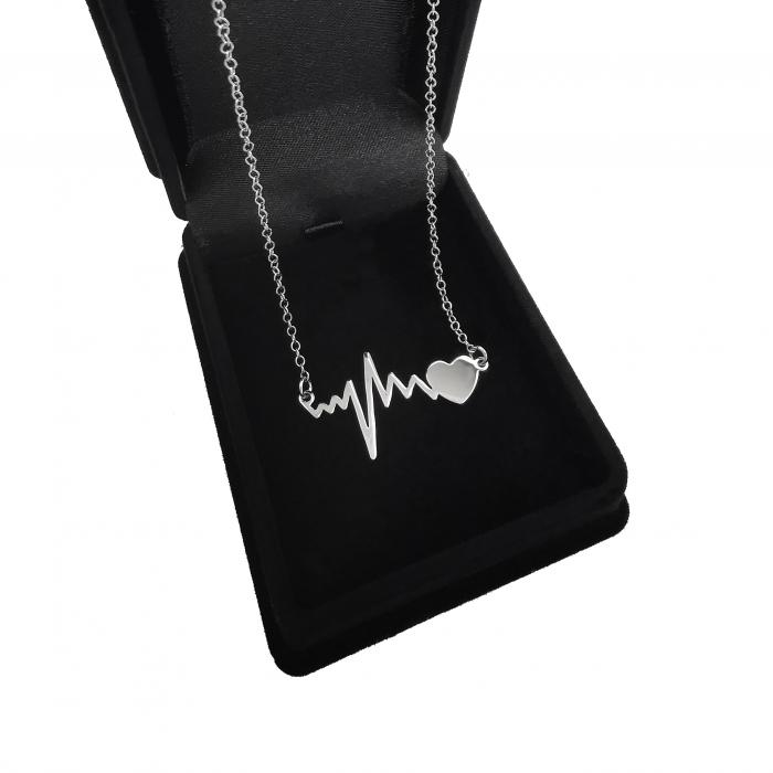 Lantisor Pandantiv HeartBeat Bataile Inimii Argint 925 Personal Style [2]