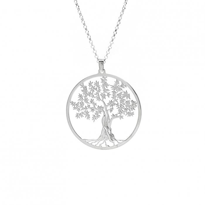 Lantisor Pandantiv Copacul Vietii Argint 925 Personal Style [1]