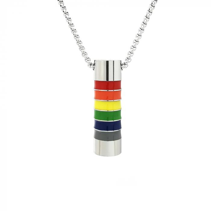 Lant Pandantiv Equality Rainbow Inox [0]