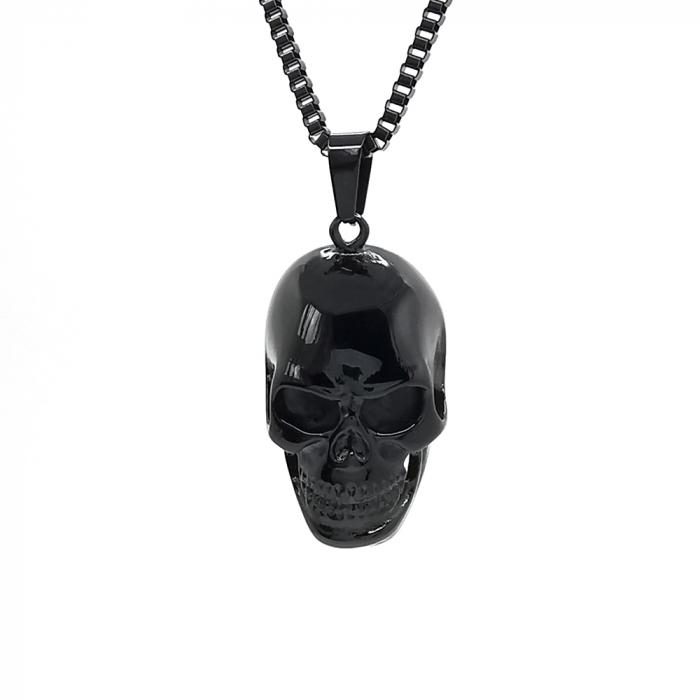 Lant Pandantiv Skull Inox [0]