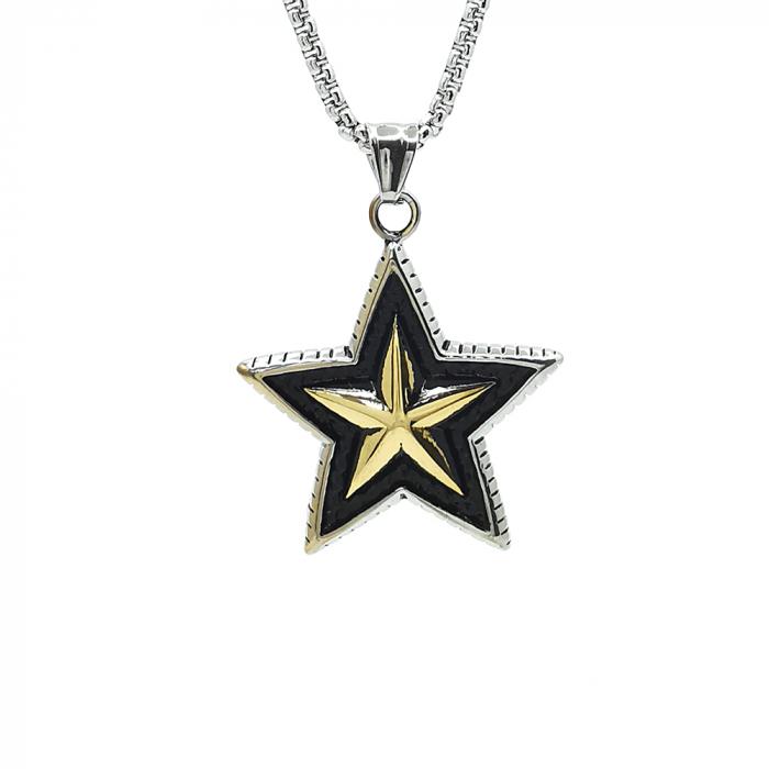 Lant Pandantiv Star Inox [0]