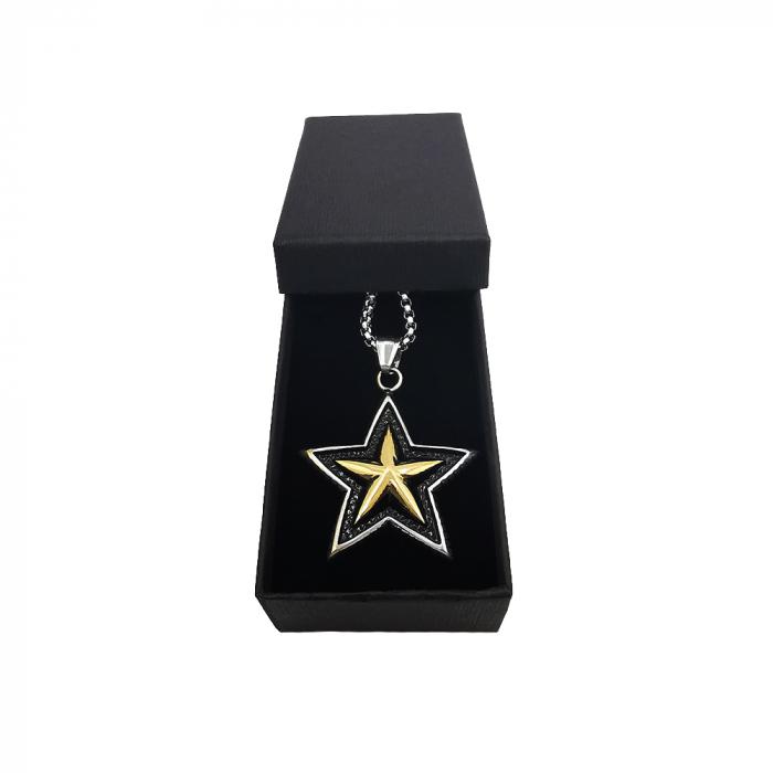 Lant Pandantiv Star Inox [1]