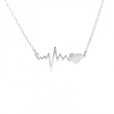 Lantisor Pandantiv HeartBeat Bataile Inimii Argint 925 Personal Style [1]