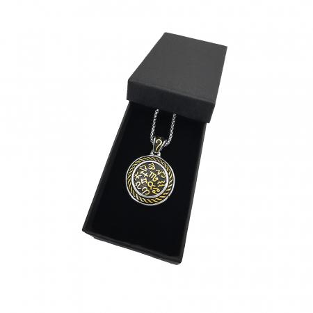 Lant Pandantiv Medalion Zodiac Inox [1]