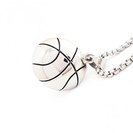 Lant Pandantiv Basketball Inox [0]