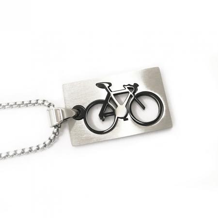 Lant Pandantiv Bicicleta Inox [1]