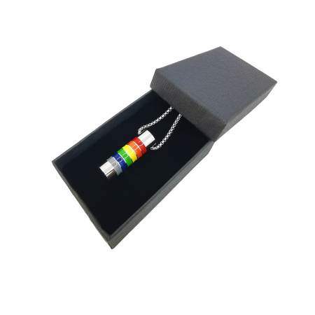 Lant Pandantiv Equality Rainbow Inox [1]