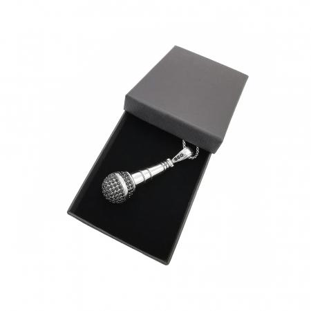 Lant Pandantiv Microfon Inox [1]