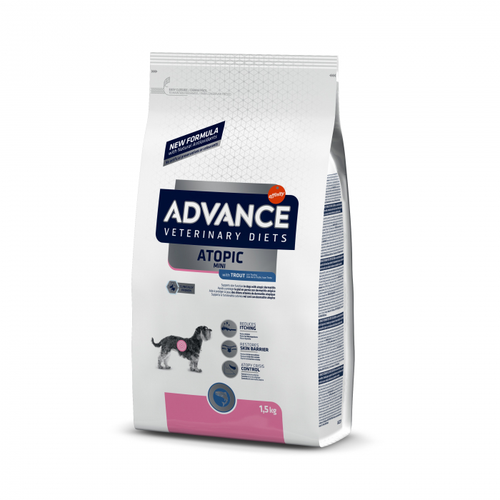 Advance Dog Atopic Mini cu păstrav 1,5 kg 0