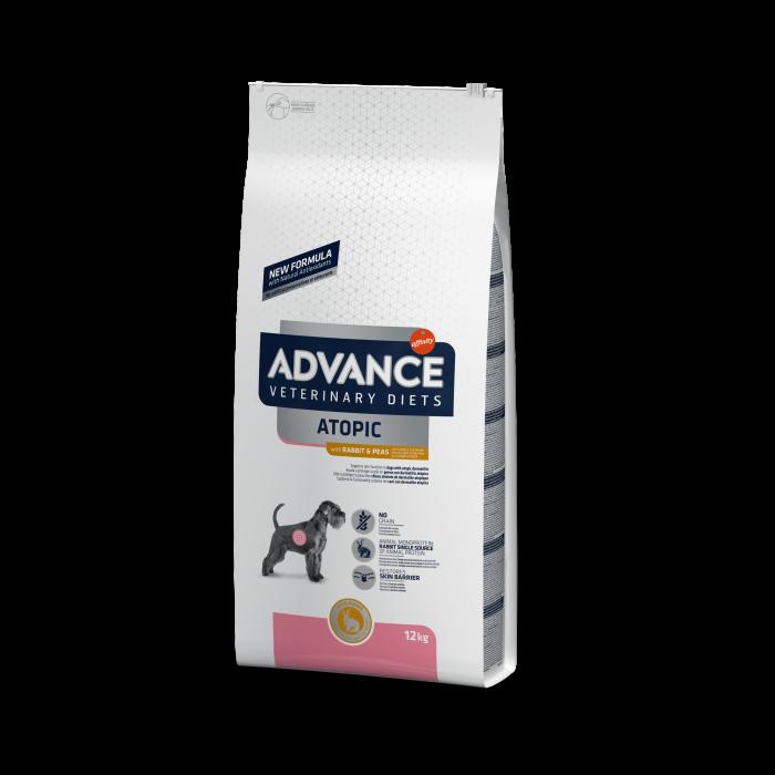 Advance Dog Atopic – fără cereale Cu iepure și mazăre 12 kg 0