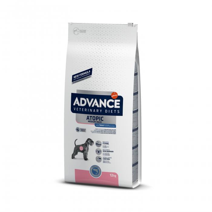 Advance Dog Atopic medium-maxi - pastrav 12 kg 0