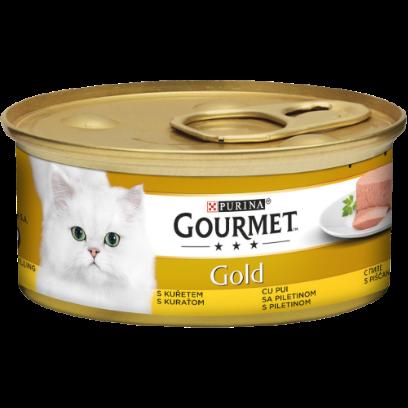 Gourmet GOLD Mousse cu Pui, hrana umeda pentru pisici, 85g 0