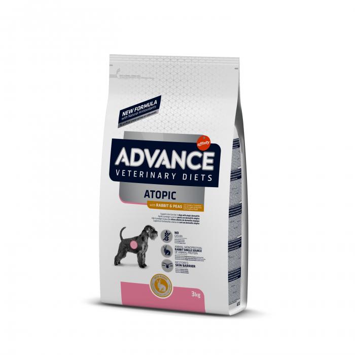 Advance Dog Atopic – fără cereale Cu iepure și mazăre 3 kg 0