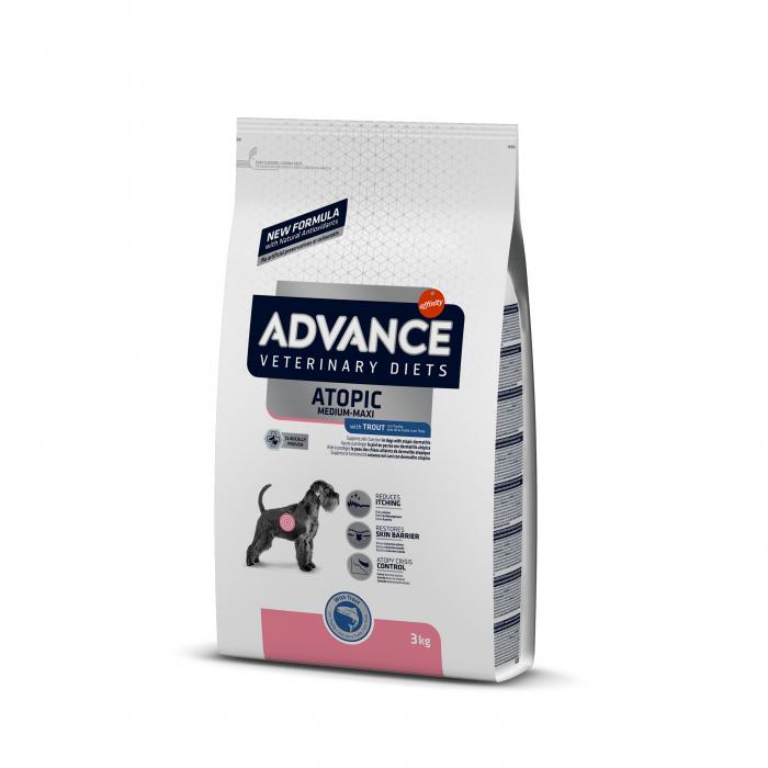 Advance Dog Atopic medium-maxi - Pastrav 3 kg 0